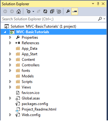 ASP.NET MVC Folder Structure